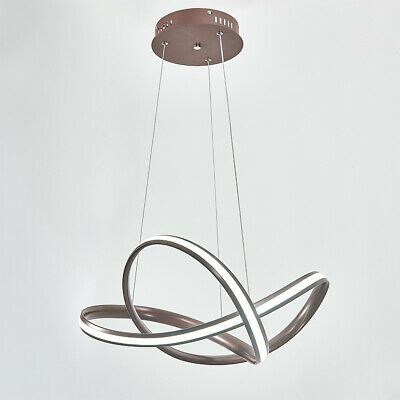 £35.99 • Buy Spiral Ceiling Light Wire Pendant Lamp Chandelier LED Cool White For Dining Room