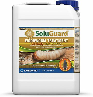 £25.99 • Buy Soluguard Woodworm Treatment - Ready For Use High Strength Woodworm Killer