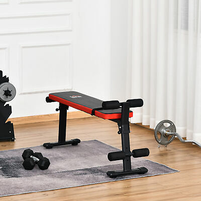 £37.99 • Buy Foldable Sit Up Bench Leg Placement Adjustable Exercise Machine For Home Office