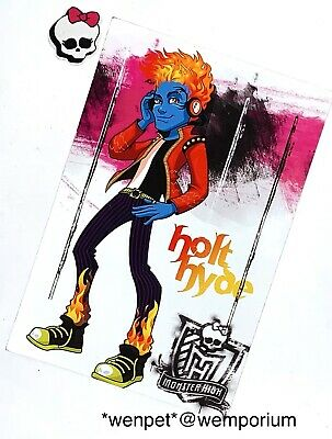 £3.99 • Buy Monster High Doll Spares Holt Hyde Panini Collector Card No. 65 Holt Hyde