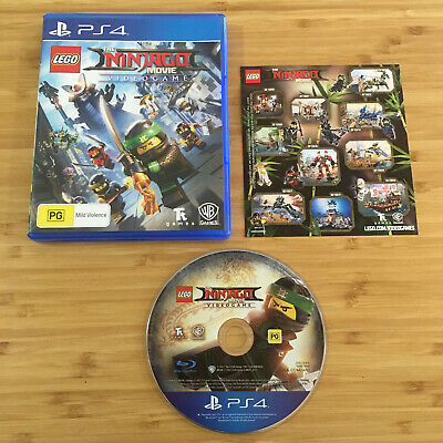 AU36.95 • Buy The LEGO Ninjago Movie Video Game | PS4 Game (Plays On PS5) | Like New Disc