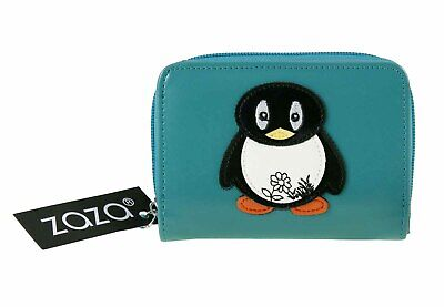 £9.90 • Buy Purse Wallet With Owl, Dog Motif On Front With Zip Pocket Ladies