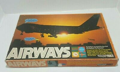 £14.99 • Buy Airways Vintage Airline Board Game By Parker/Palitoy Games 1970s Complete W/ Box