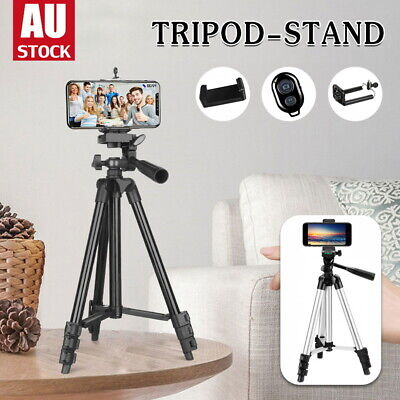 AU17 • Buy Professional Camera Tripod Stand Mount Remote + Phone Holder For Huawei IPhone