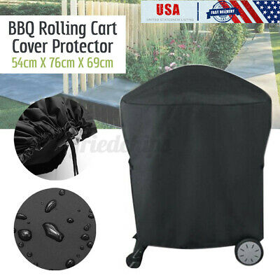 $ CDN14.94 • Buy US BBQ Grill Cover Barbecue 210D Heavy Duty Waterproof For Weber Q 200 Series ┤