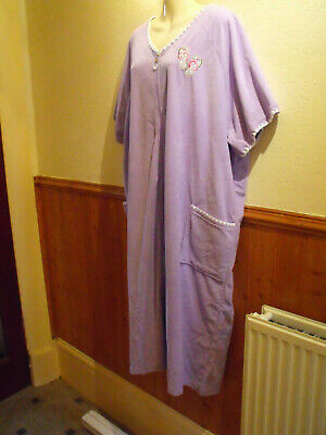 £29.99 • Buy Brand New Pretty Secrets Zip Front Gown - Turquoise / Lilac 16/18