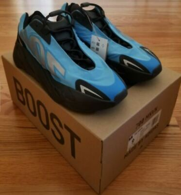 $ CDN292.50 • Buy Adidas Yeezy Boost 700 MNVN Bright Cyan US Mens Size 9 DS New In Hand Ships Fast