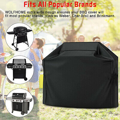 £9.59 • Buy Heavy Duty BBQ Covers Barbecue Gas Waterproof Grill Protector Outdoor Garden