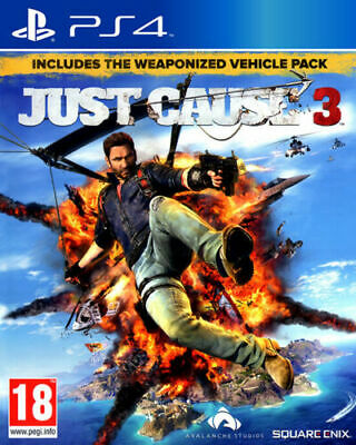 £4.95 • Buy Just Cause 3 (Playstation 4 PS4)   Great Condition