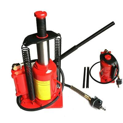 $99.14 • Buy Red Steel 20 Ton Air Hydraulic Bottle Jack Manual Lifts Moving Machinery Tool