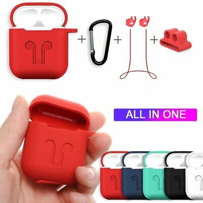$ CDN9.85 • Buy 6 In 1 Silicone Protective Accessories Set For AirPods **PROMOTION**