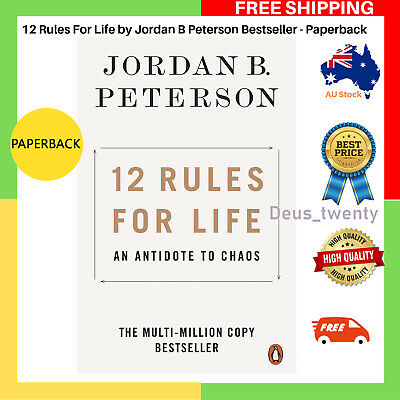 AU15.59 • Buy NEW 12 Rules For Life 2019 By Jordan B Peterson Paperback Book, FREE SHIPPING