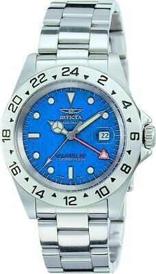 £82.67 • Buy Invicta Men's 40MM Specialty Silver Bracelet Blue Dial Swiss Movt GMT SS Watch
