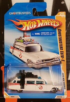 £7.19 • Buy 2010 Hot Wheels New Models ** Ghostbusters Ecto-1 ** #25 1:64