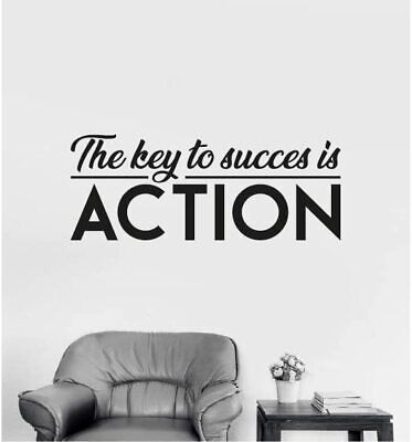 $ CDN15.74 • Buy Key To Success Inspiration Life Quote Vinyl Wall Art Sticker For Home Room Decal