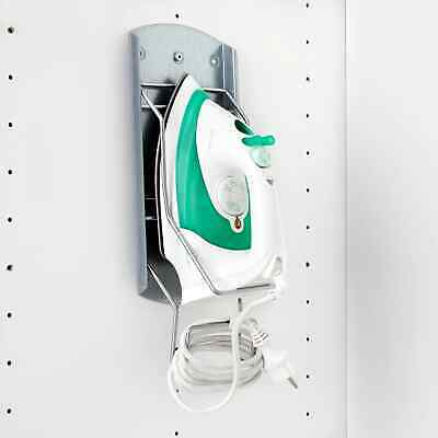 £9.96 • Buy IKEA VARIERA Iron Holder, Wall Mounted Storage Plate For Steam, Steel, Iron Cord