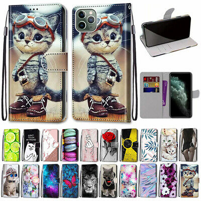 AU8.28 • Buy Magnetic Case Leather Flip Wallet Cards Cover For IPhone 12 Pro Max 11 Xr 7 8 6s
