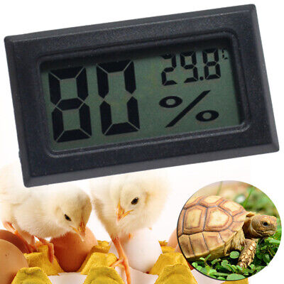 £4.65 • Buy Digital Incubator Humidity Thermometers Meter For Egg Hatching Chicks UK