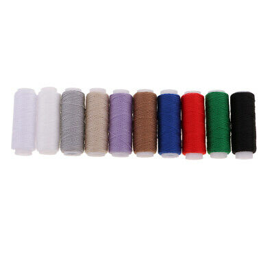 £3.55 • Buy 10 Pack Leather Sewing Thread Strong Canvas Blanket Shoes Cushion Repair