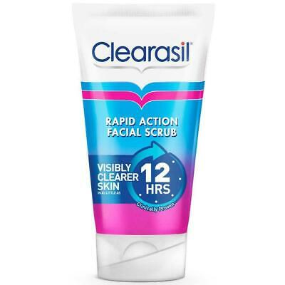 £10.49 • Buy Clearasil Ultra Rapid Action Scrub 1 X 125ml  Fast And Free Delivery