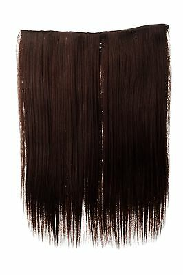 $5.93 • Buy Hair Piece Wide Extension 5 Clips Smooth Braun Mahogany 17 11/16in L30173-33
