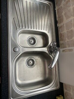 £18 • Buy Franke 1.5 Stainless Steel Sink With Taps