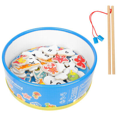 £12.99 • Buy Magnetic Fishing Game Toy Model Educational Baby Fish Fishing Rod Magnetic Kids