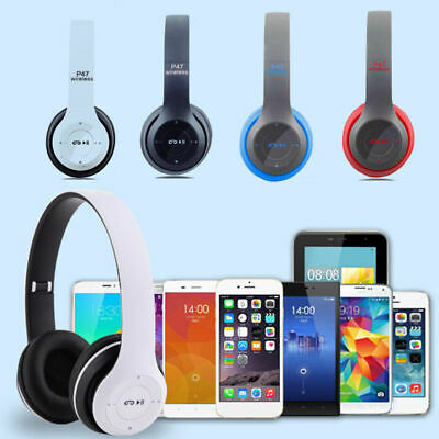 AU15.68 • Buy Wireless Headphones Music Stereo Headset Gaming Foldable For Phone PC Tablet AU