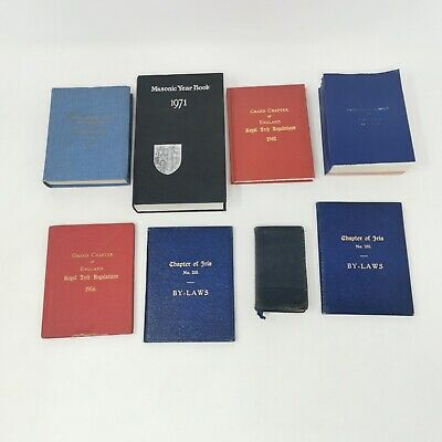 £19.99 • Buy Vintage Masonic Book Year By Laws Ceremony Books 1950s 1960s 1970s Free Masons