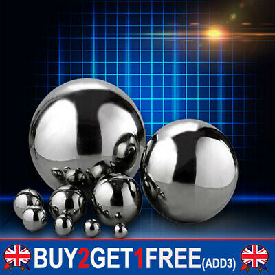 £4.28 • Buy Stainless Steel Mirror Polished Hollow Sphere Gazing Ball Home Garden Decoration