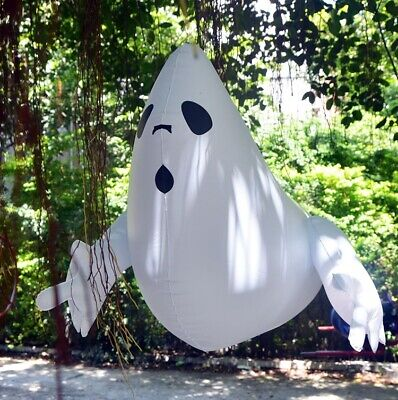 $ CDN15.09 • Buy Halloween Decoration Hanging Large White Ghost House Outdoor Party Decor