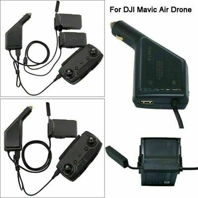 AU31.24 • Buy 3 In 1 Car Charger Battery Remote Control Charger Dock For DJI MAVIC Air Drone