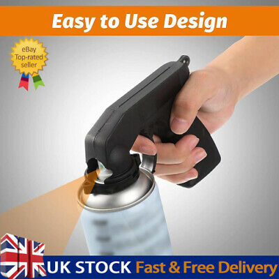 £4.26 • Buy 1PC Portable Aerosol Spray Gun Can Handle With Full Grip Trigger For Painting UK