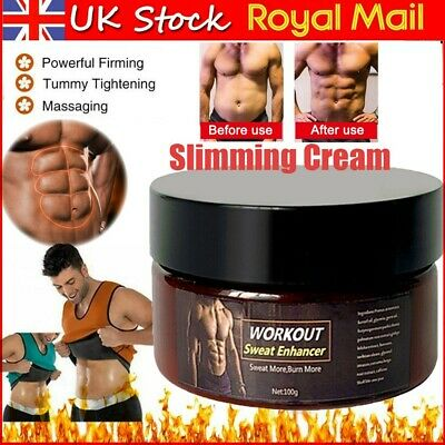 £4.98 • Buy Fat Burning Slimming Hot Cream Body Muscle Enhancer Belly Weight Loss Gel UK