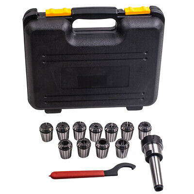 $52.63 • Buy MT3 Shank ER32 Chuck With 11 PC Collets Set For Lathe CNC And Milling Machine