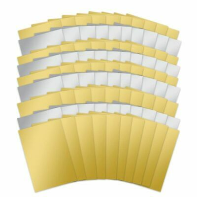 £2.25 • Buy Hunkydory 10 X A4 Silver Or Gold Mirri Mirror Card 270gsm NEW
