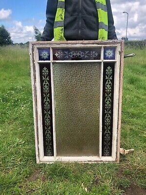 £145 • Buy Antique Reclaimed Stained Glass Window