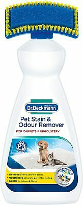 £10.85 • Buy Pet Stain Odour Remover Tackles Fresh And Dried-in Stain Dr. Beckmann 650 Ml