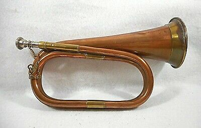 $28 • Buy Solid Copper & Brass U.S. Military Trumpet