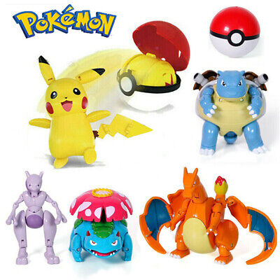 £13.49 • Buy Pokeball Ball For Pokemon Transformation Toy Kids Action Figure Deformation Toys