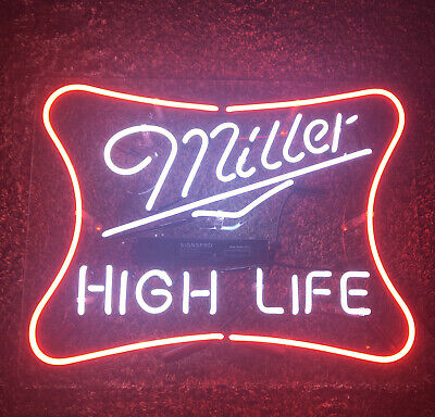 $150 • Buy Miller High Life Neon Sign 18x14 Works Great!!