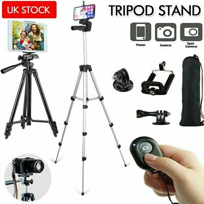 £8.49 • Buy  Universal Tripod Stand Telescopic Camera Phone Holder 106CM For IPhone Samsung