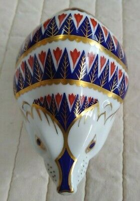 £20 • Buy Royal Crown Derby Hedgehog Paperweight, Second Quality, In Excellent Condition