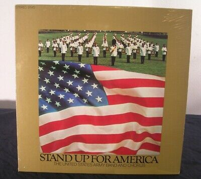 $19.99 • Buy 1972 Stand Up For America US Army Band Chorus Military 33 RPM Album LP 12  NOS