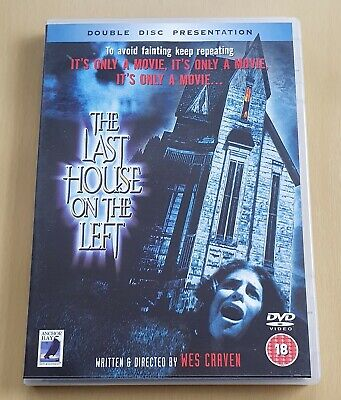 £2.99 • Buy Last House On The Left DVD 2-Disc Set Anchor Bay 1972 Wes Craven