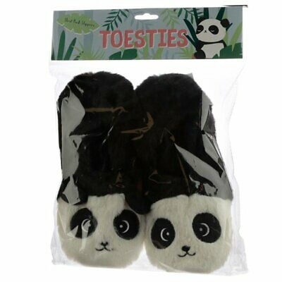 £12.98 • Buy PANDA Toesties HEAT PACK SLIPPERS Warmer Scented Microwavable UK Size 3 To 6