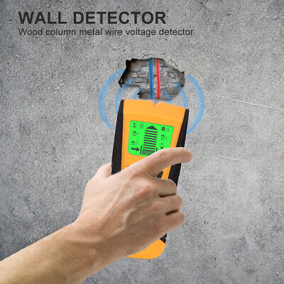 £14.49 • Buy Wall Wood Stud Detector Finder Scanner Metal Live Wire Cable Pipe LCD 3 In 1