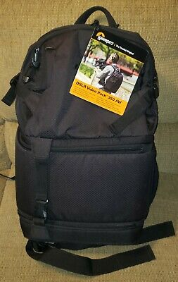 £79.16 • Buy NWT Lowepro DSLR Video Pack 350 AW Black Backpack Fast Pack