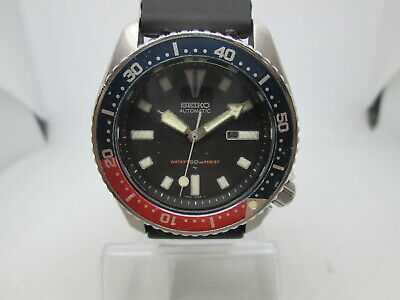 $ CDN30.84 • Buy Seiko 4205-015k Stainless Steel Automatic Midsize Mens Diver Watch