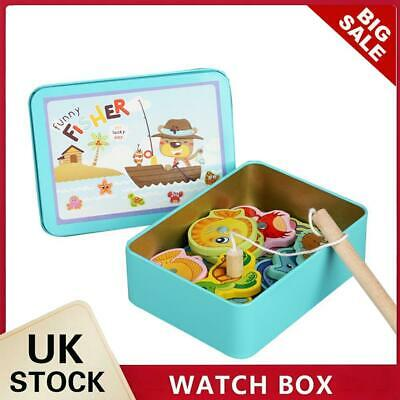 £7.72 • Buy Wooden Magnetic Fish Toys Kids Educational Fishing Magnet Puzzle Game Gifts